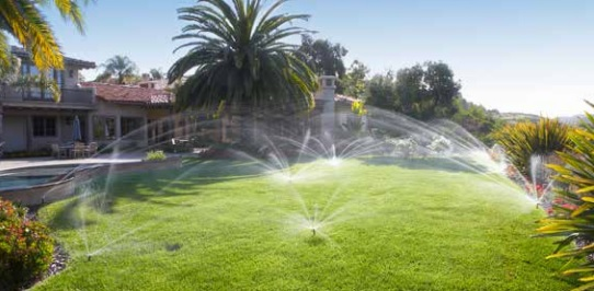 Sistema de riego autom tico caudal de agua y di metro de for Riego automatico jardin