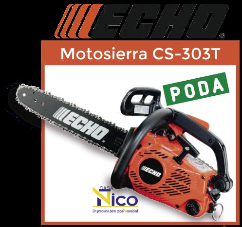 Motosierra echo CS-303T PODA