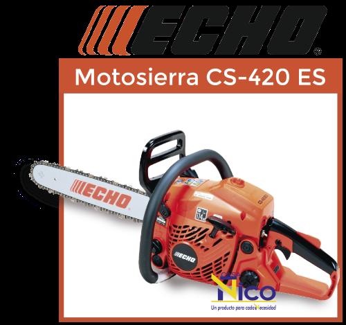 Motosierra echo CS-420ES