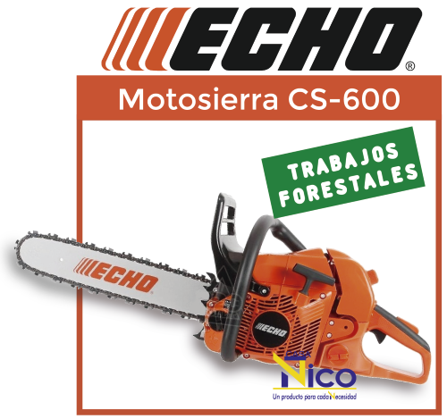 Motosierra echo CS-600 Forestal